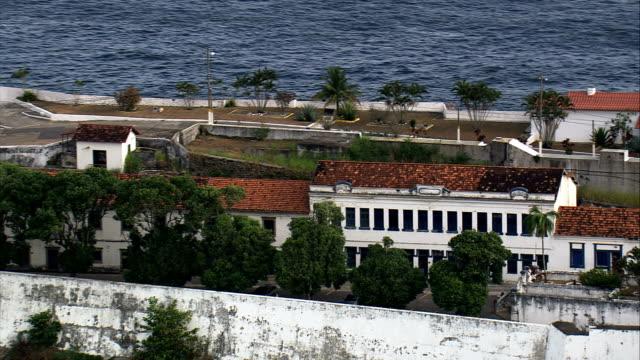 Fortaleza De Santa Cruz-Jurujuba  - Aerial View - Rio de Janeiro, Niterói, Brazil video