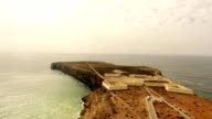 SAGRES Fortress Fortress of Sagres aerial view Portugal video