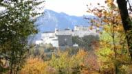 Fortress Hohensalzburg in Salzburg, Austria video