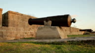 Fortress wall - Old cannon video