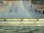 Fountain at Plaza de Espana Seville Spain video