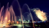 Fountain Fireworks video