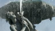 Fountain in Lisbon video