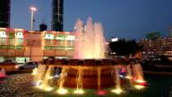 Fountain in Manama, Bahrain video