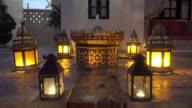 Fountain in morocco video