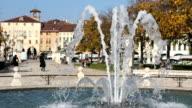 Fountain in Padua video