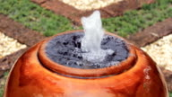 Fountain Pot Close Up video