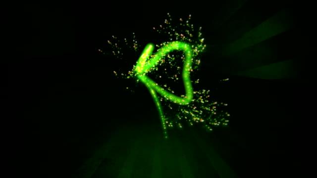 Four Leaf Clover Light Streak video
