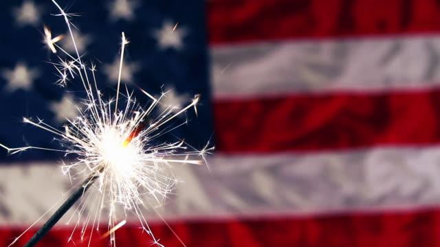 Fourth of July Sparkler video