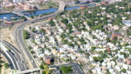 Fox District  - Aerial View - Rhode Island, Providence County, United States video