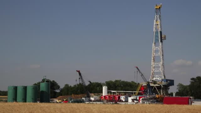 Fracking Rig video