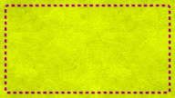 Frame Dashes Border Paper Texture Animated Yellow Background video