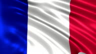France charming flag video
