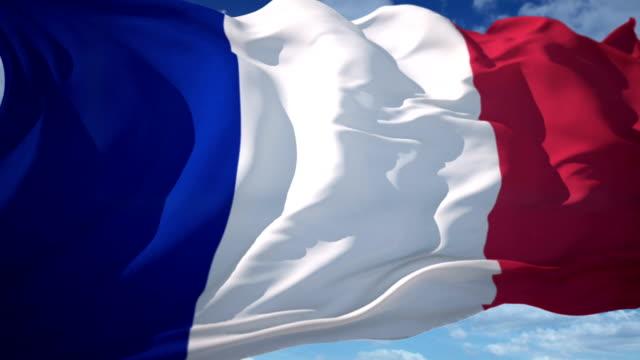 France Flag video