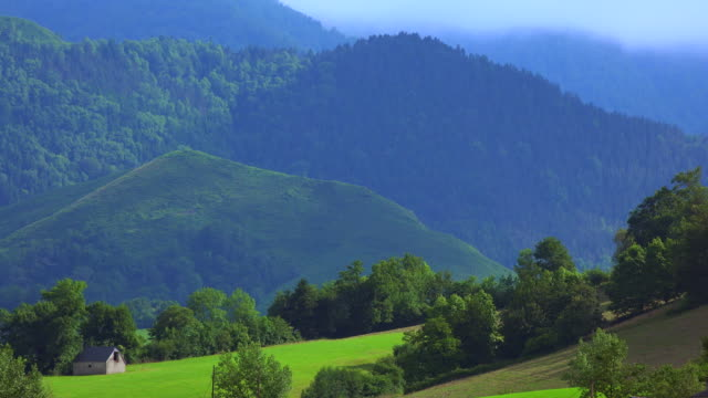 France, Pyrenees, Mountain, View to Pyrenees, Panorama, Landscape video