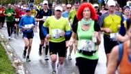 Frankfurt marathon run video