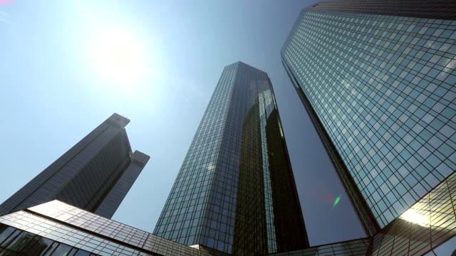 Frankfurt Skyscrapers, Germany video