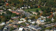 Franklin  - Aerial View - Massachusetts,  Norfolk County,  United States video