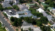 Franschhoek  - Aerial View - Western Cape,  Cape Winelands District Municipality,  Stellenbosch,  South Africa video