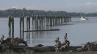 Fraser River Commercial Fishboat video