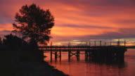 Fraser River Sunrise video