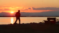 Fraser River Sunset Walk, Steveston video