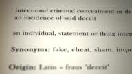 Fraud Definition video