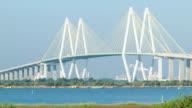 Fred Hartman Bridge Closeup Houston TX Baytown video