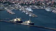 Frederikshavn  - Aerial View - North Denmark,  Frederikshavn Kommune,  Denmark video