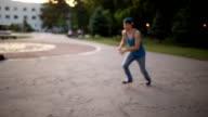 Free running video