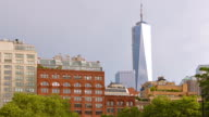 Freedom tower in New York video