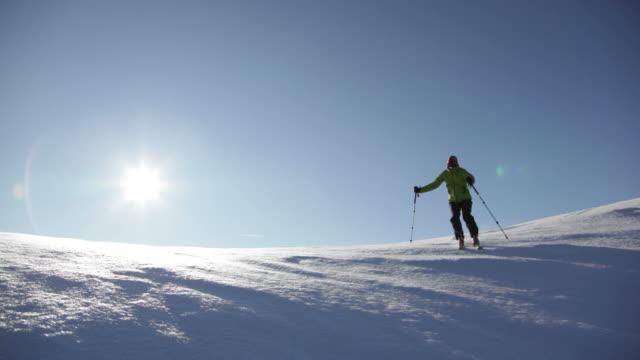 Freeride skier - HD1080p video