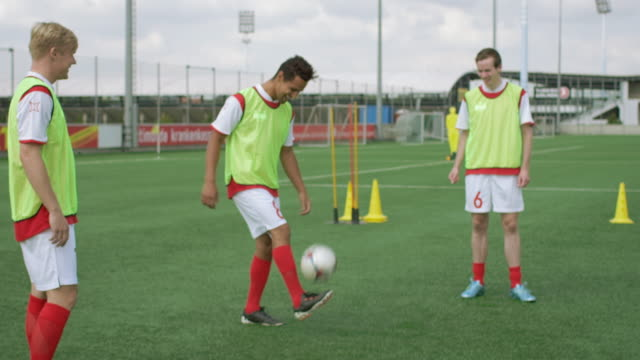Freestyle ball playing video
