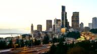 SEATTLE, WASHINGTON freeway video