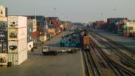 Freight Transportation Cargo Container Shipping. video