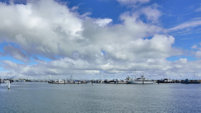 Fremantle's Yacht Harbour, Perth, Western Australia video