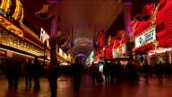 Fremont Street Las Vegas video