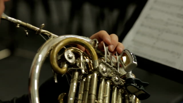 French Horn Musical Instrument video