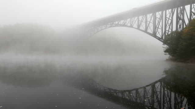 French King Bridge in the Pioneer Valley region of Massachusetts video