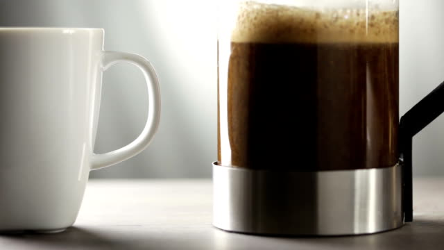 French press coffee maker video