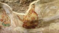 Fresco of the Sigiriya Damsels, Sri Lanka video