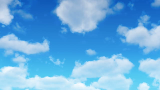 Fresh Animated Clouds Loop video
