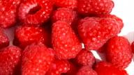 fresh berries - raspberry video