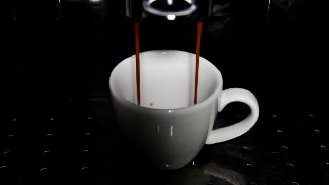 fresh brewed coffee video