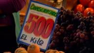 Fresh fruit on sale video