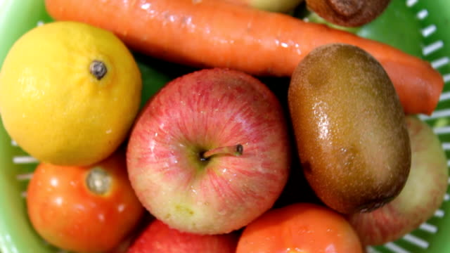 Fresh fruits for health video