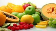 Fresh fruits video