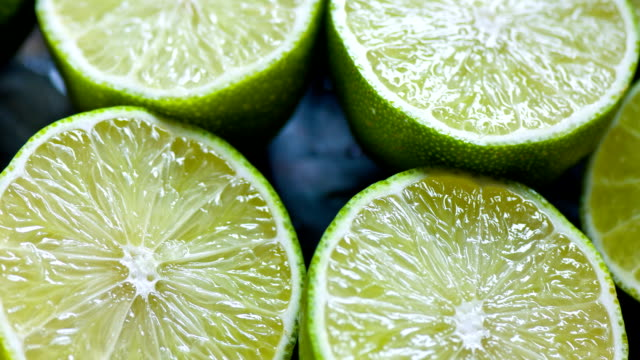 Fresh Lime close up video