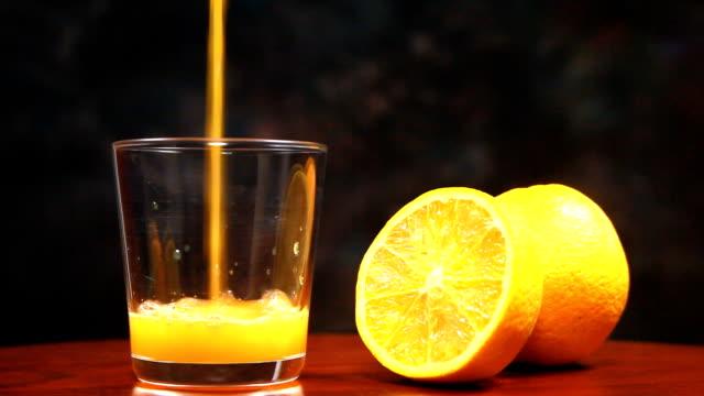 fresh Orange and juice. video