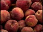 Fresh Organic Peaches video